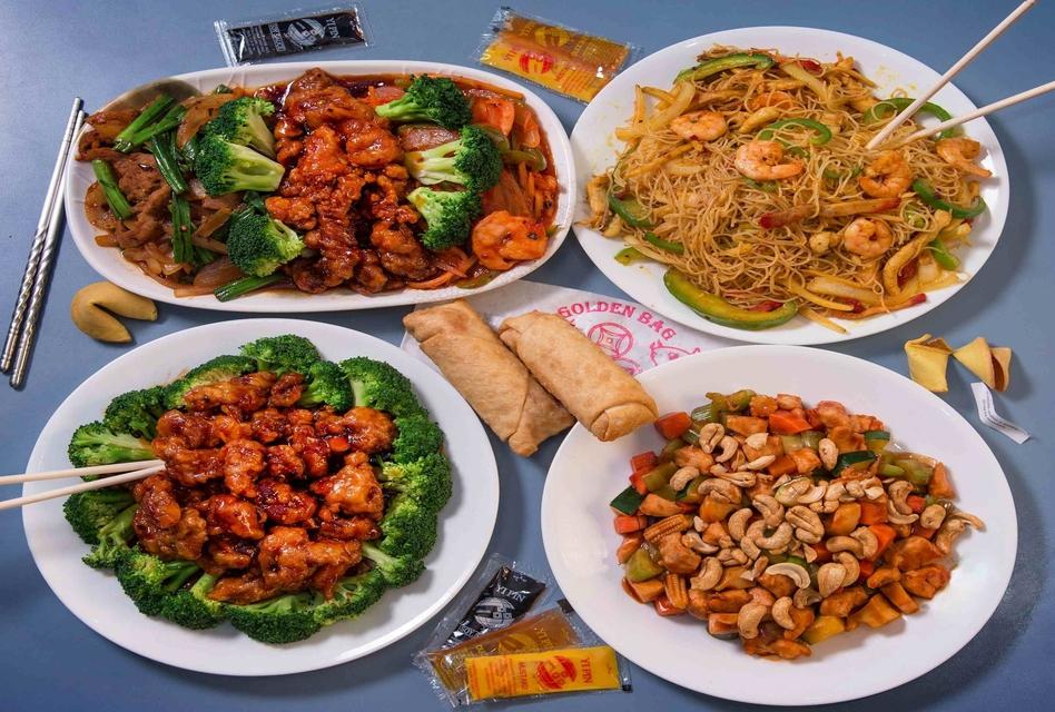 Golden Chopsticks food
